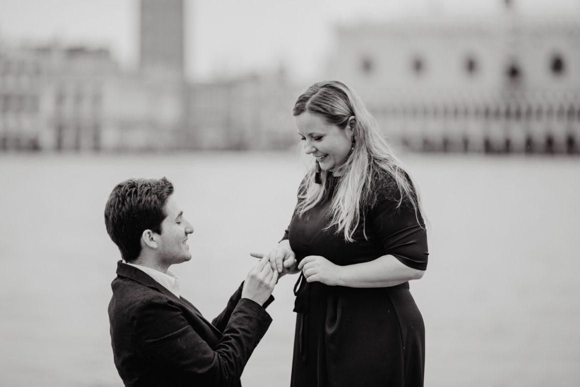 Anello per la proposta di matrimonio a San Giorgio Maggiore