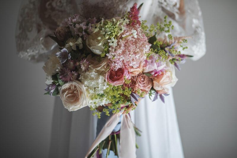 Italian Style Wedding nelle Marche Grottammare - Bouquet nuziale