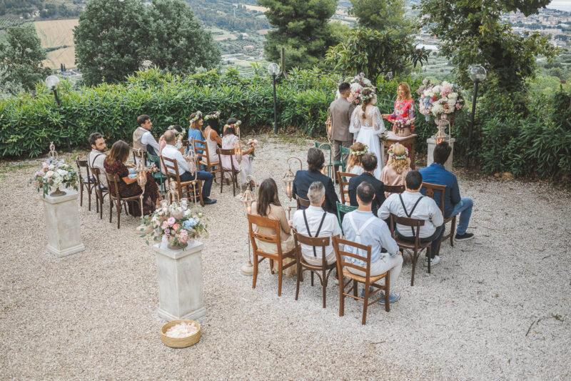 Italian Style Wedding nelle Marche - Grottammare Cerimonia civile