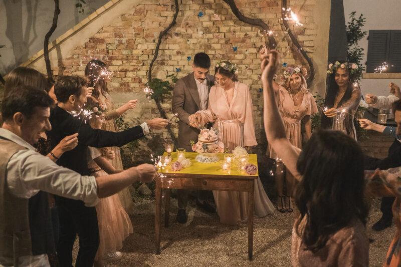 Italian Style Wedding nelle Marche - Grottammare torta nuziale