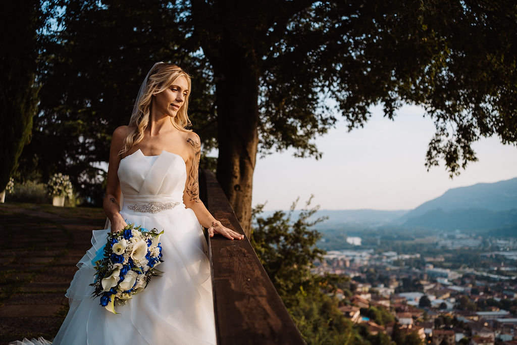 Sposa italiana Lago di Como Castello di Rossino