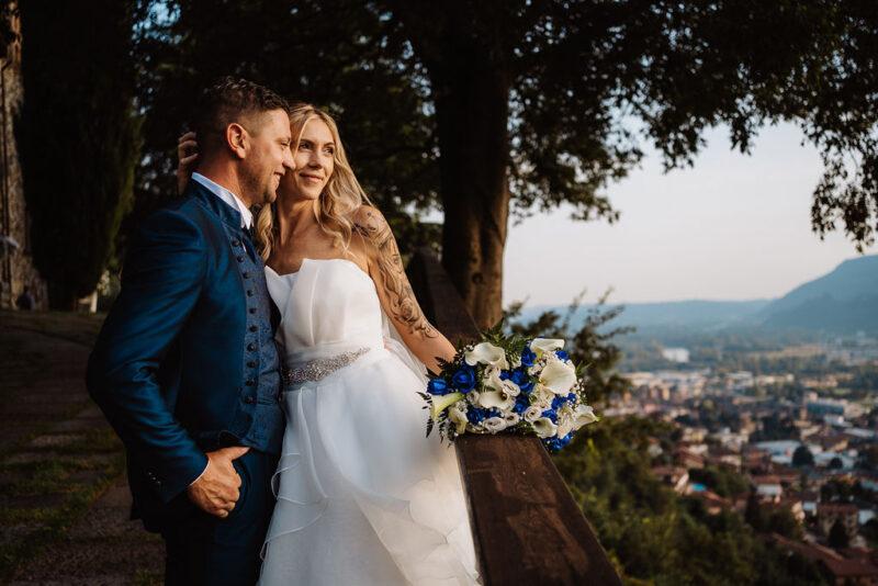 Matrimonio Lago di Como - Real Wedding- Coppia di sposi