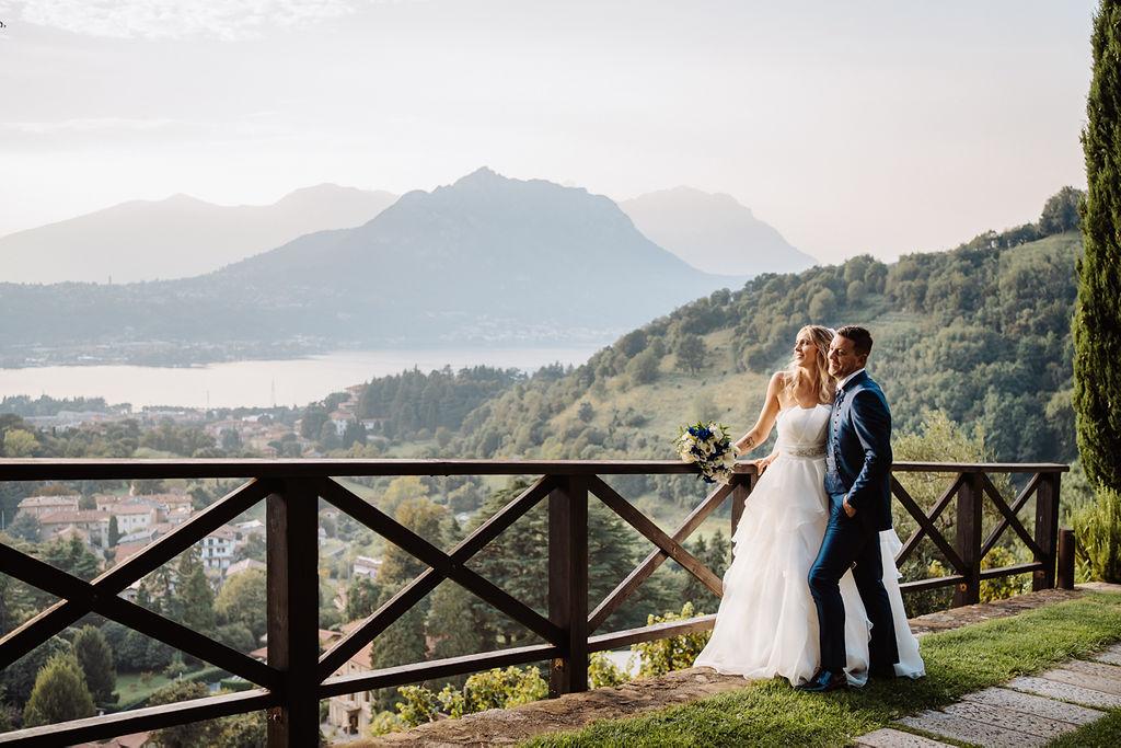 Matrimonio Castello di Rossino - Lago di Como Real Wedding