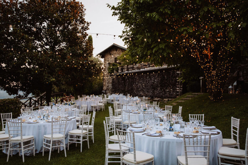 Wedding Catering - Wedding styled table
