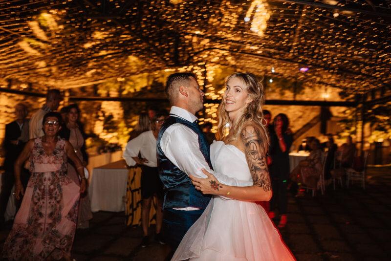 Wedding party - coppia di sposi